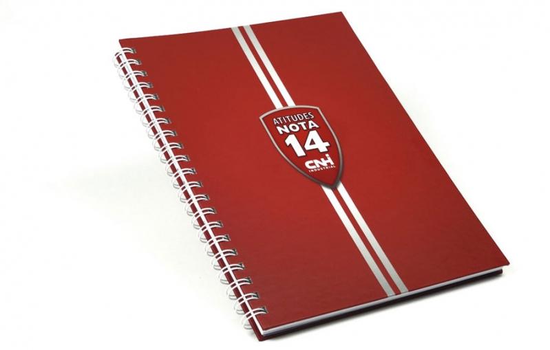 823df400c Caderno Promocional para Empresarial Preço Liberdade - Caderno  Personalizado Brinde